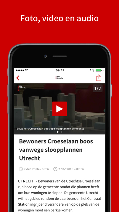RTV Utrecht iPhone Screenshot 3