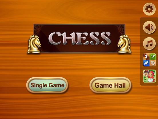 Chess with 9 Levels iPad Screenshot 1