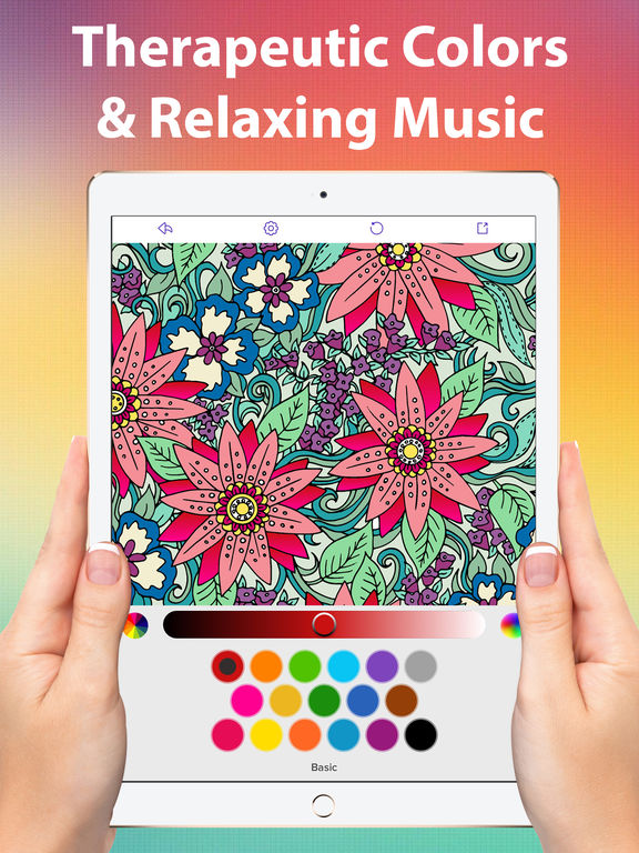 Color Matters Coloring Book For Adults Therapy Screenshot