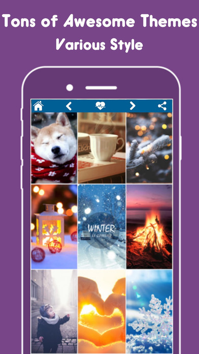 InstaScreen - Live Wallpaper for iPhone & iPad HD Screenshot