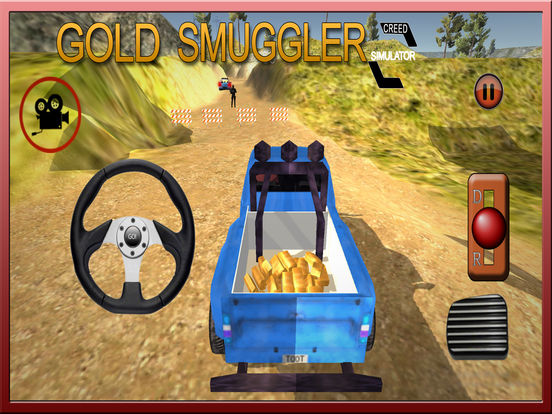 Gold Smuggler And Real Transporter Game screenshot 9