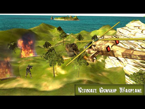 Ultimate Gunship Warplane: Real Jet Attack screenshot 4