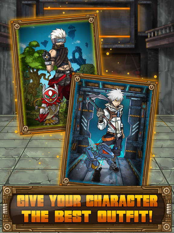 Screenshots of Manga Ninja Dragon Dress Up– Chibi Anime Game Free for iPad