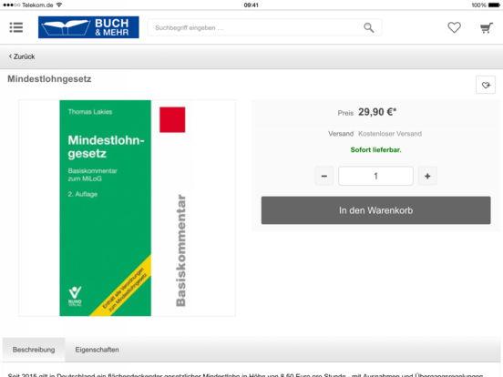 Buch & Mehr iPad Screenshot 4