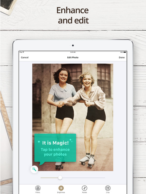 Photo Scanner for Me - Scan Old Photos and Albums iPad