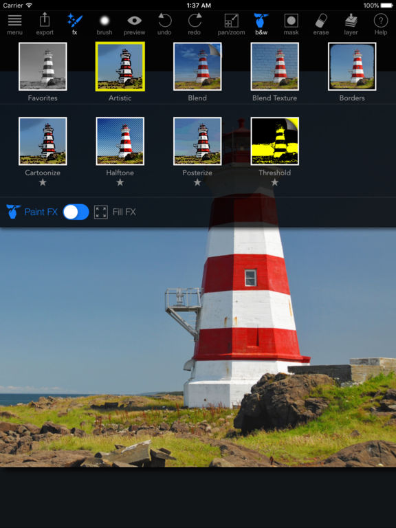 Paint FX : Photo Effects Editor Screenshots