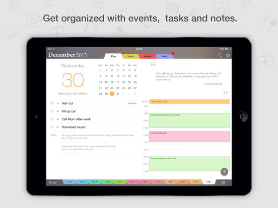 Planner Pro Daily Calendar Personal Organizer On The