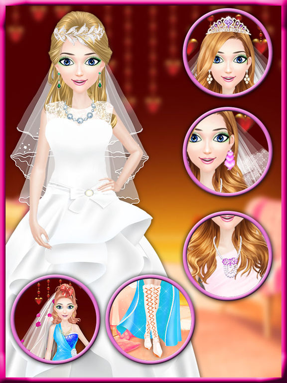Screenshot #2 for Valentine Beauty Salon - Date Party Makeover Game