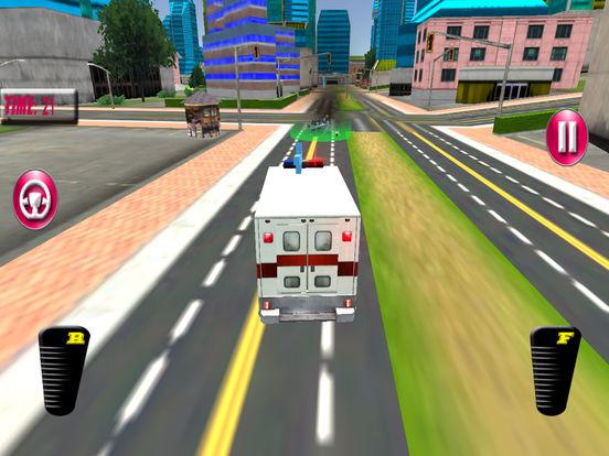 Fast Ambulance Rescue Duty 3D Pro screenshot 10