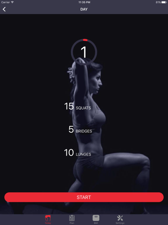 Butt Workout & Booty Exercise, Bikini Body At Home Screenshots