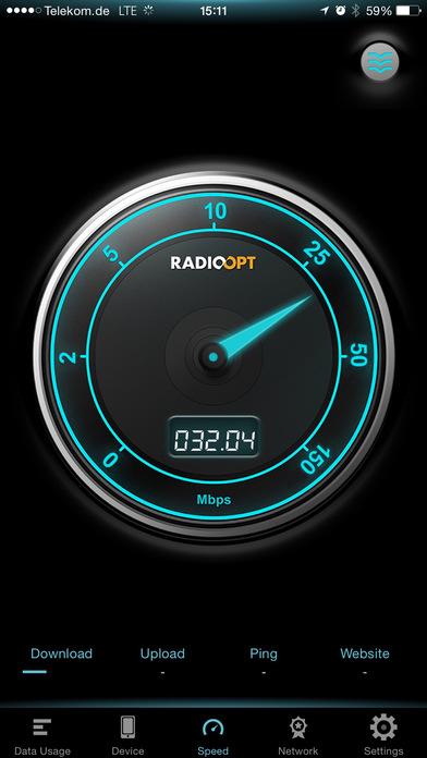 Traffic Monitor - Mobile Speed Test & Usage Widget Screenshot