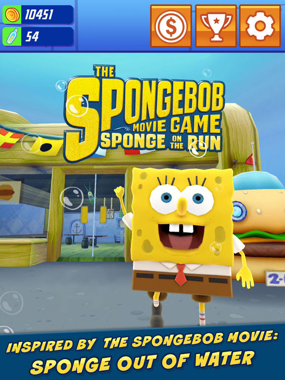 SpongeBob: Sponge on the Run Screenshots