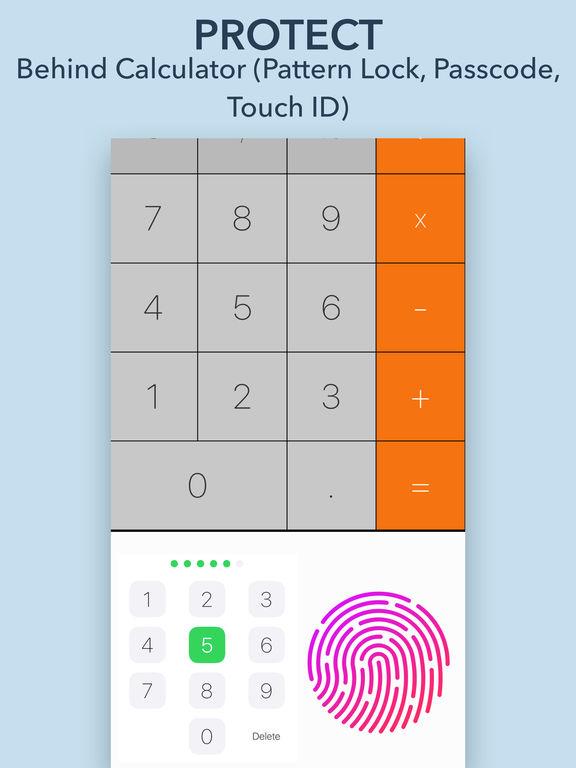 Secret Calculator - Hide Photo, Video, GIF Screenshots