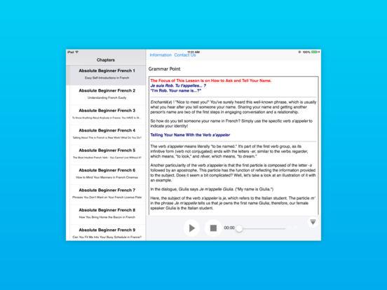 Italian Lower Beginner for iPad iPad Screenshot 2