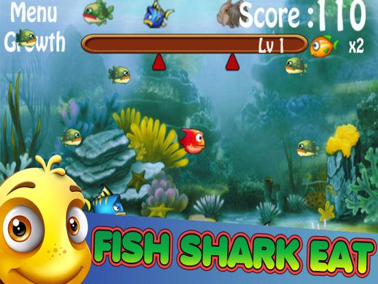 App shopper hunger feeding frenzy fish eat fish games for Fish eat fish game