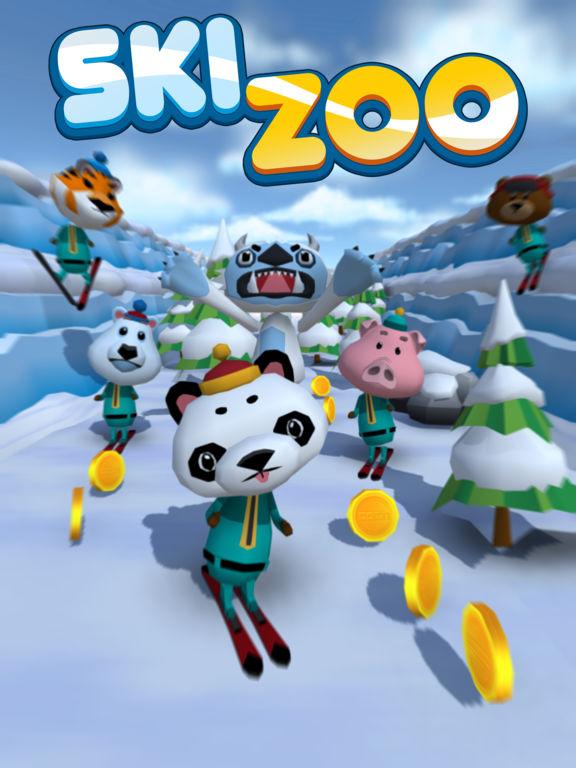 Игра Ski Zoo