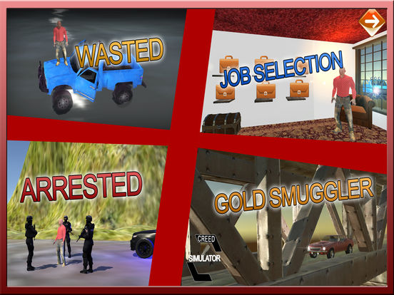 Gold Smuggler And Real Transporter Game screenshot 7