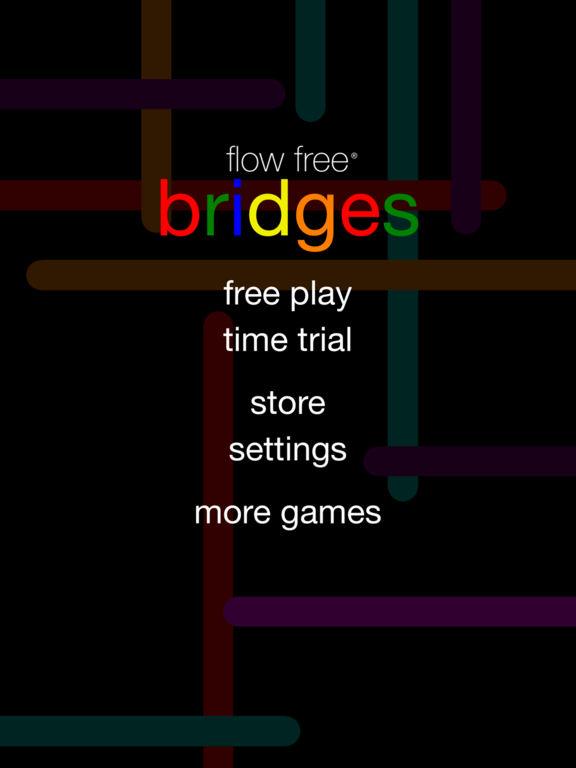 Screenshots of Flow Free: Bridges for iPad