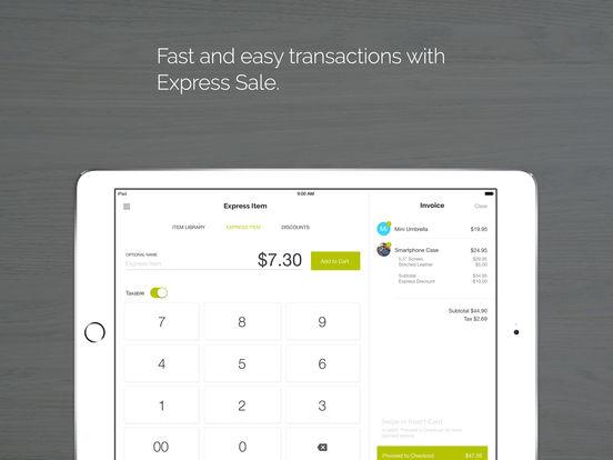 Phone Swipe – Credit Card Terminal iPad Screenshot 3