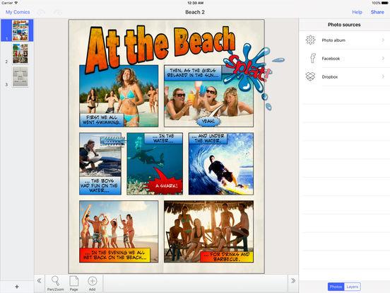 Strip Designer iPad Screenshot 2
