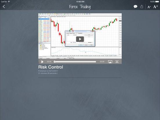 Trading system ipad