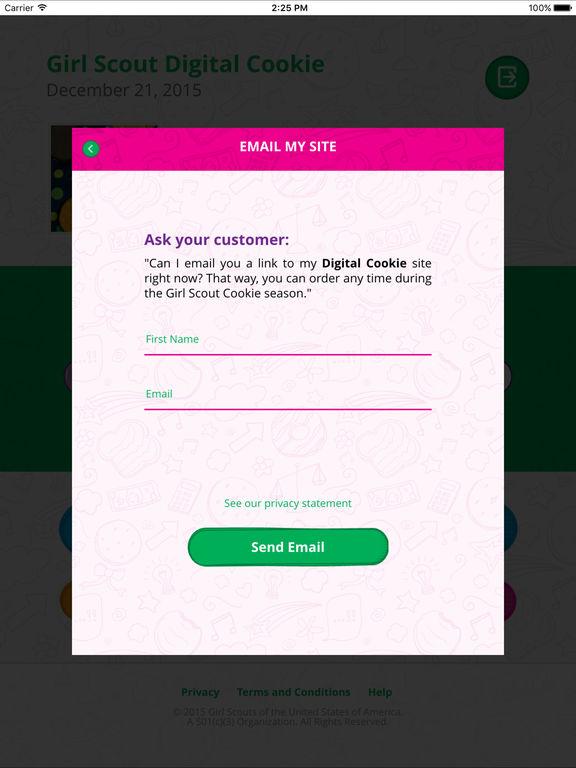 app shopper digital cookie mobile app education