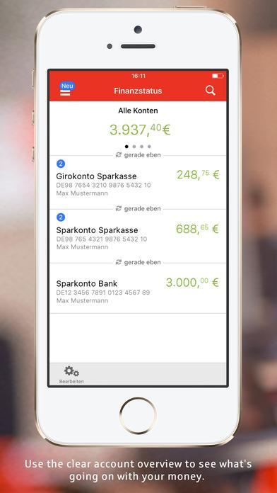 Sparkasse+ Screenshots