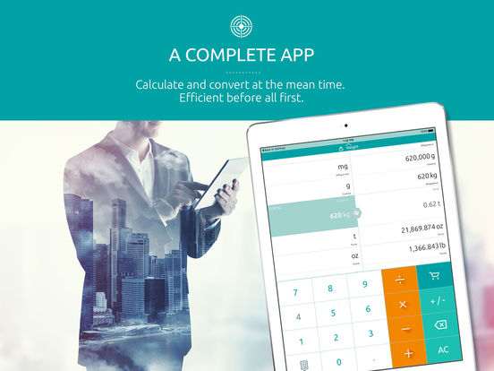 Universal converter free: Converts all units of measurement iPad Screenshot 2
