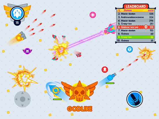 Tank.IO Craft - Fast Paper IO Battle Game for IOscreeshot 2