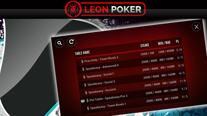 Screenshot 4 Leon Poker