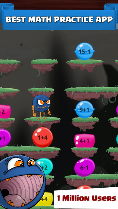 Monster Math : Grade 1, 2, 3, 4, 5 Games for kids Screenshots
