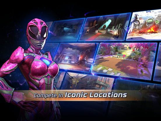 Image of Power Rangers: Legacy Wars for iPad