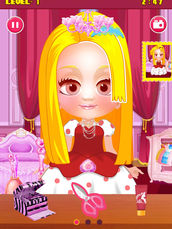 App shopper hair salon games for girls games for 3d beauty salon games
