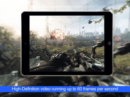 Screenshots of KinoConsole - Stream PC games for iPad