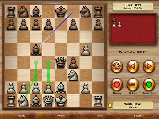 Chess Pro - with coachscreeshot 1