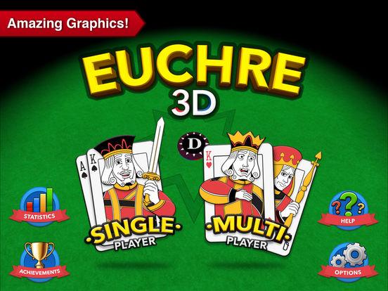 Euchre 3D iPad Screenshot 2