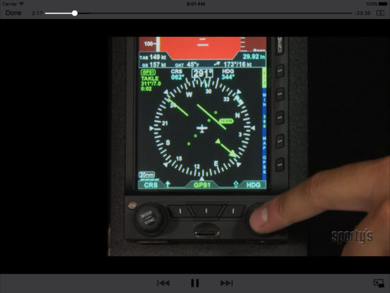 Flying the Aspen Evolution iPad Screenshot 3