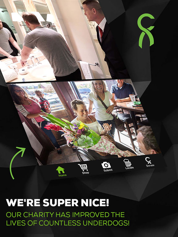 Screenshots of theCHIVE for iPad