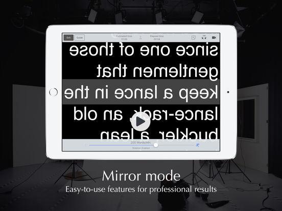Autocue App - Professional Teleprompter Screenshots