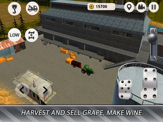 Euro Farm Simulator: Wine Full screenshot 7