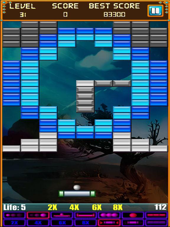 Скачать Brick Breaker: Super Breakout Retro