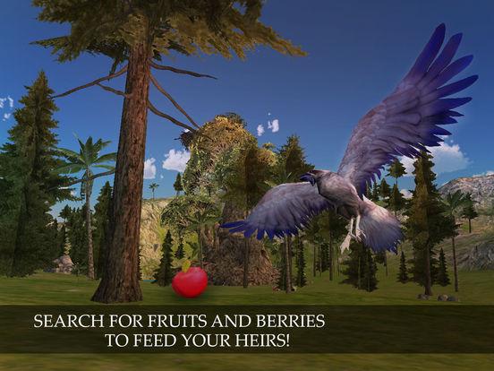 Flying Crow Bird Simulator screenshot 8