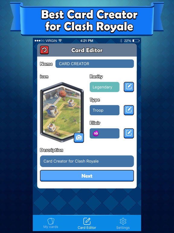 Card Maker for Clash Royale - Card Creator on the App Store