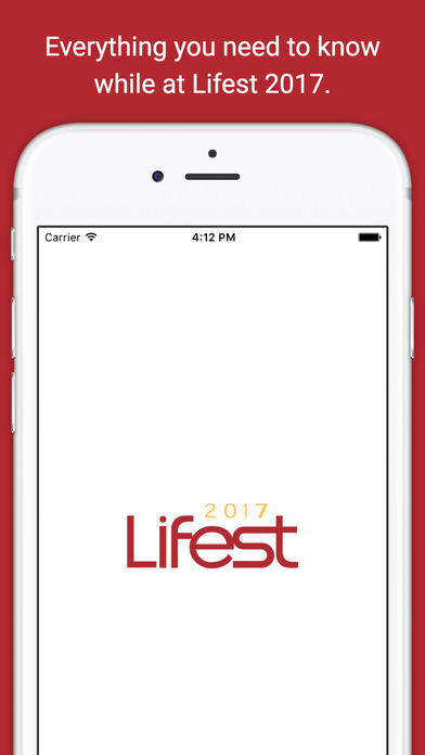 Lifest 2017 iPhone Screenshot 1