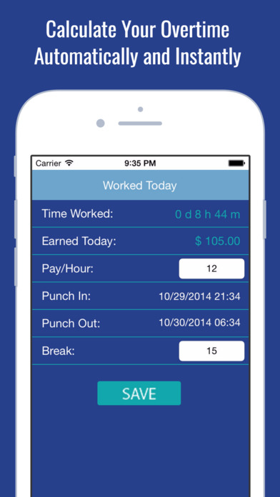 Working Hours Clock & Billable Paycheck Tracker on the App Store
