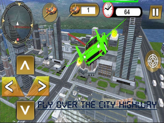 Flying Jet Cars: Extreme Supercars Robots screenshot 6