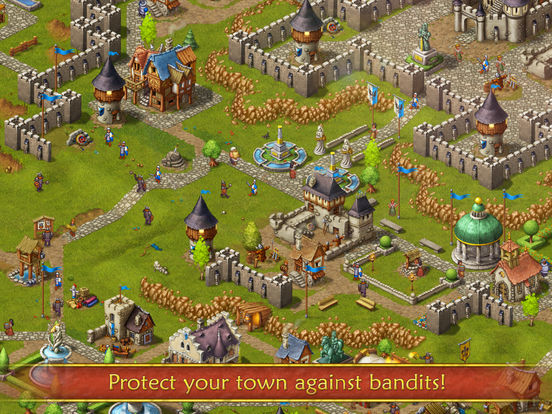 Screenshot #5 for Townsmen Premium