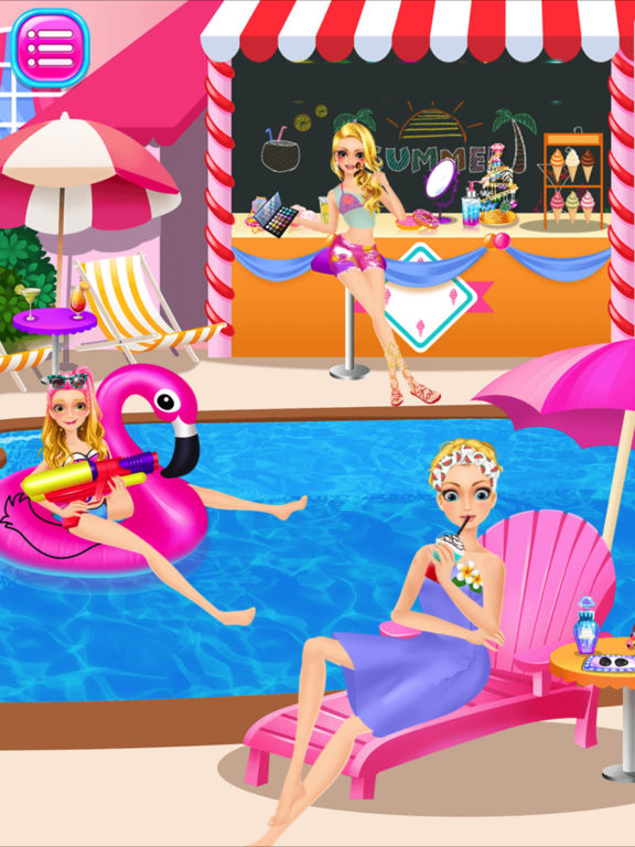App Shopper Dream Swimming Pool Costume Party Pretty Girl Games