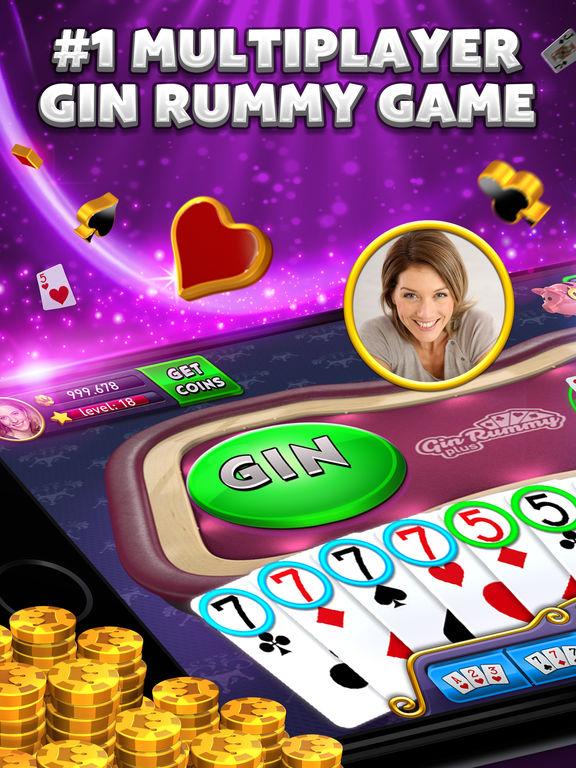 Gin Rummy Plus - Multiplayer Online Card Gamescreeshot 1