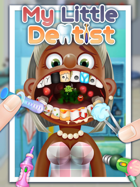 Little Dentist - kids games & game for kids iPad